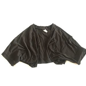 B. Smart Black Bolero Shrug Cardigan